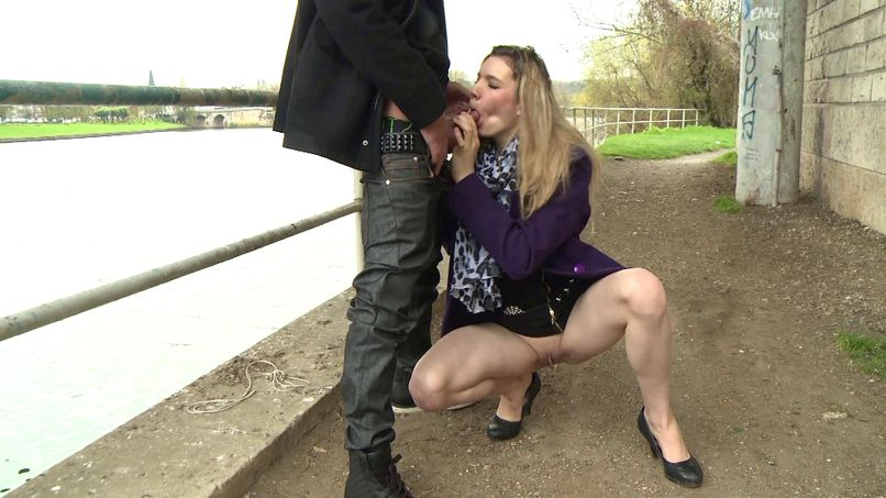Solène, a young blonde beginner takes her first steps in anal and hard sex! - Tonpornodujour.com