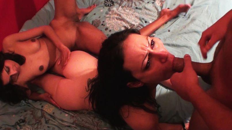 Two amateur lesbians hungry for big cock! - Tonpornodujour.com