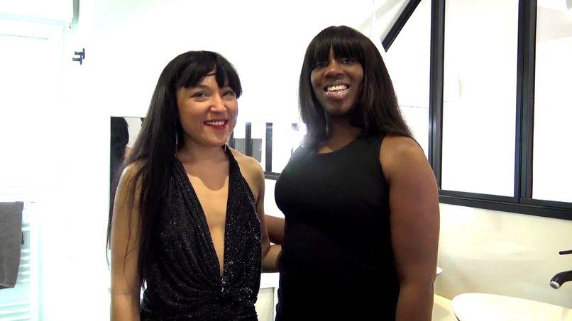 Hard anal for Bianca and Rubie, two very slutty lesbians! - Tonpornodujour.com