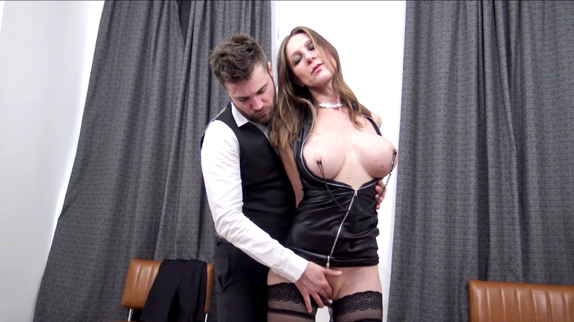 Sixtine, the French milf gives in to the temptation of a submission session! - Tonpornodujour.com
