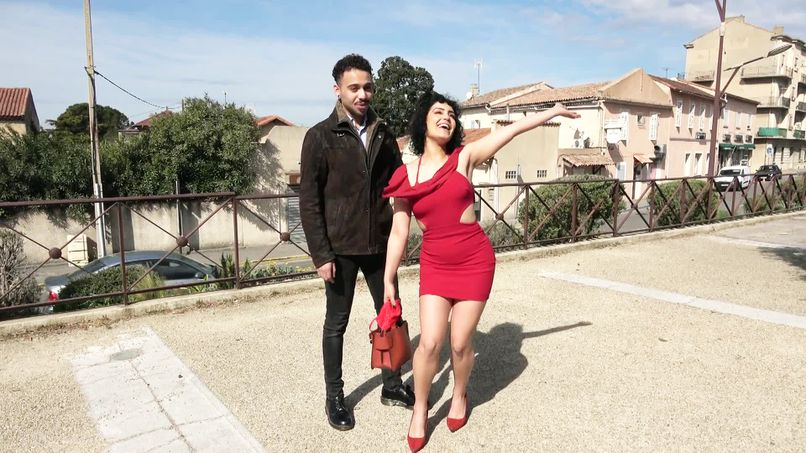 This fat slut from Azylis, 24, shows her dexterity with our pornstar's big cock! - Tonpornodujour.com