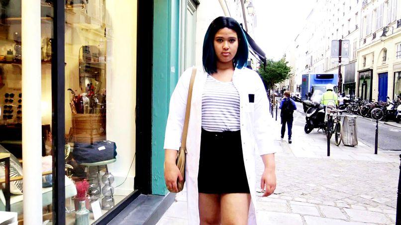 We take care of Amanda, a Moroccan beurette, and her big ass! - Tonpornodujour.com