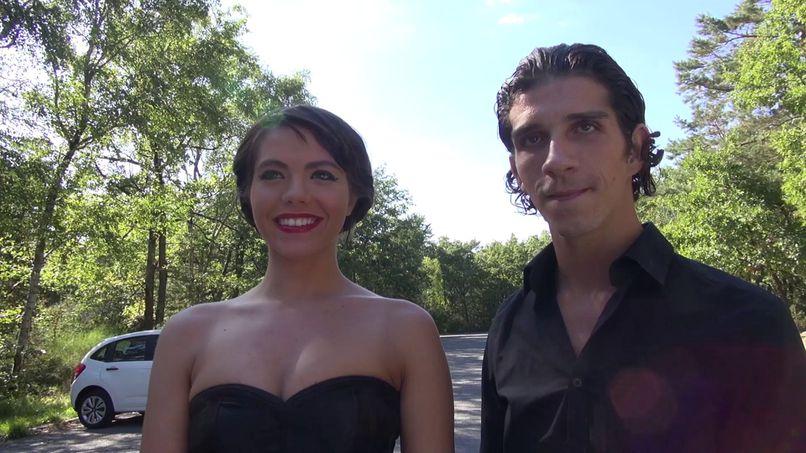 Manon, fucked in double penetration under the eyes of her boyfriend! - Tonpornodujour.com