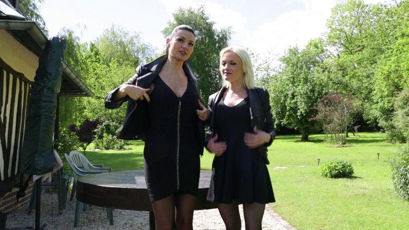 Anais and Caroline, the atomic bombs, looking Phil! - Tonpornodujour.com