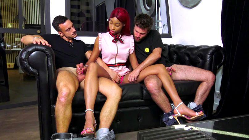 Series of sodomies and DP in Kimmy's beautiful ass, big black slut! - Tonpornodujour.com