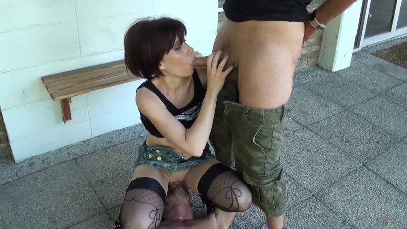 Margaux, a slut with big tits, discovers the joys of hard sex! - Tonpornodujour.com