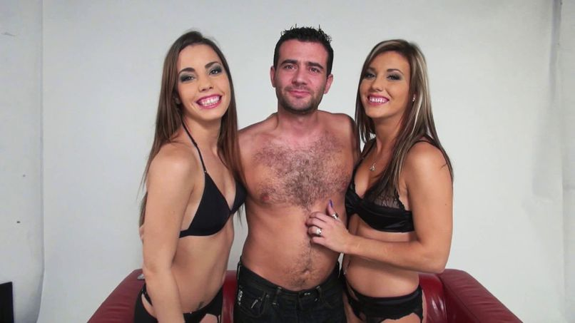 Two Canadian sisters get fucked in a threesome! - Tonpornodujour.com