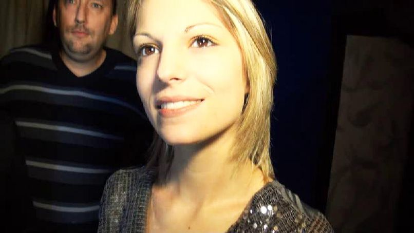 Patricia, a blonde slut, is caught by our lads! - Tonpornodujour.com