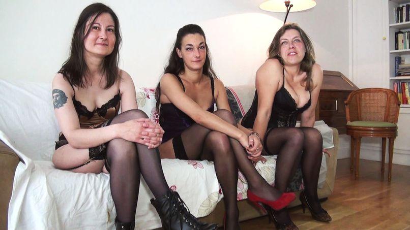 Three beautiful sluts for friend Rick! - Tonpornodujour.com