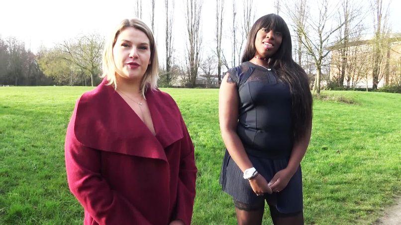 Mélinda and Rubie, two big sluts with big natural breasts! - Tonpornodujour.com
