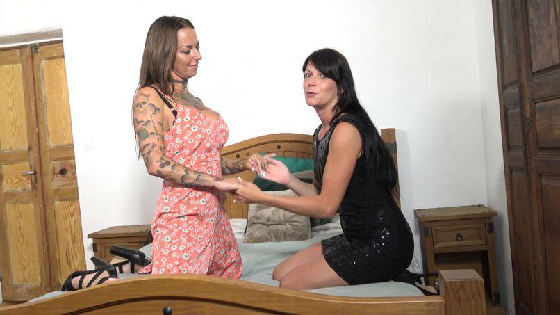 Aline, 36-year-old amateur milf has fun with Eva, a busty lesbian and fat slut assumed ... - Tonpornodujour.com