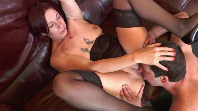 Karine cougar slut gets fucked and sodomized by her husband! - Tonpornodujour.com