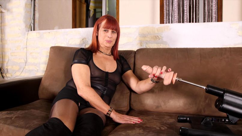 Slutty 51-year-old cougar Sylvia meets Margaux for her first amateur sex session filmed! - Tonpornodujour.com