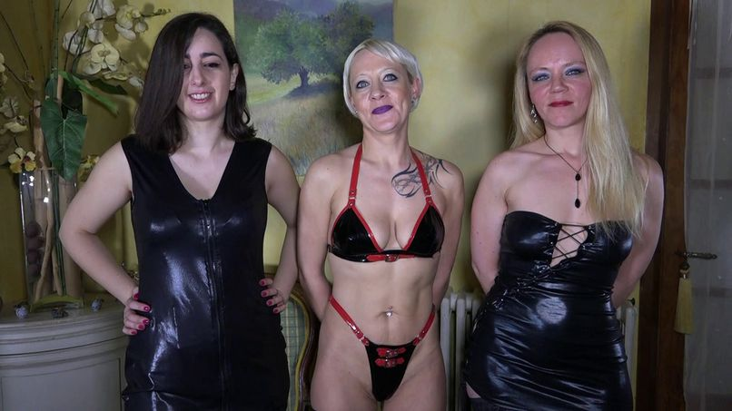 Loly, Klara and Isabelle: a bunch of sluts who orgy without limit! - Tonpornodujour.com