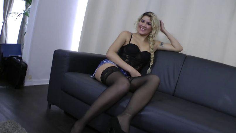 Beautiful bitch ass Brazilian, Agatha loves French sex! - Tonpornodujour.com