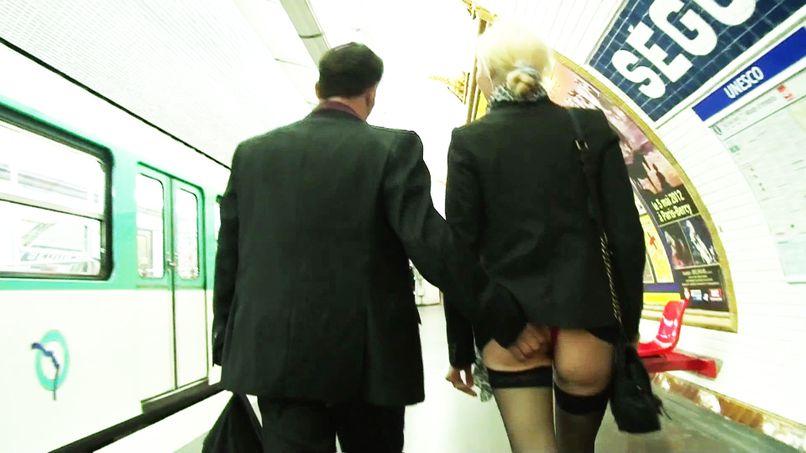 William takes advantage of Alicia, a blonde slut! - Tonpornodujour.com